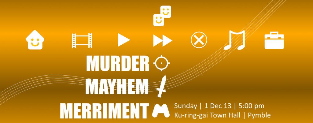 Murder Mayhem Merriment